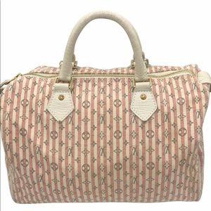 Louis Vuitton Mini Lin Speedy Doctor Boston Bag